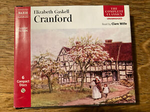 BBC AUDIO BOOK CRANFORD ELIZABETH GASKELL 6 x CD COMPLETE UNABRIDGED