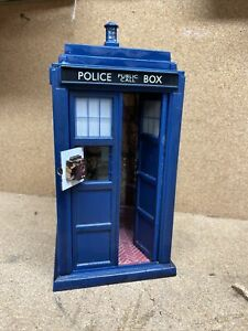 DR WHO 11TH DR DOCTOR FLIGHT CONTROL TARDIS ELECTRONIC WITH LIGHT SOUND
