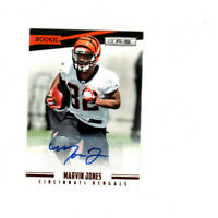2012 Rookies & Stars Marvin Jones Autograph Rookie Card! LIONS WR! AUTO RC #/999