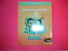 Go Math! Assessment Guide Grade 5 (Common Core Edition)