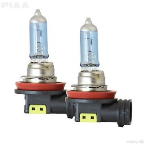 PIAA 23-10111 H11 Replacement Bulb White Hybrid Fits 16-17 Chrysler/Ford - 2 pc