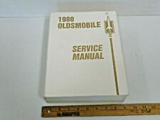 1980 Oldsmobile All Car Series Chassis Shop Service Manual
