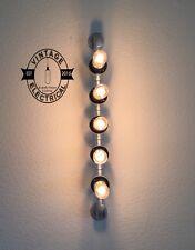 5 x INDUSTRIALE IN BACHELITE DA SOFFITTO MURO LUCE BAR TAVOLA Steampunk + 5 LAMPADE e27