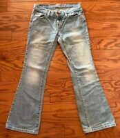 American Eagle Outfitters Hipster Fit Light Wash Jeans Women's Size 0 Short