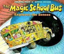 The Magic School Bus Explores the Senses-ExLibrary