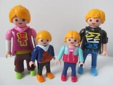 Playmobil DOLLSHOUSE cheveux blonds famille chiffres: Maman, Papa, petite fille & bébé nouveau