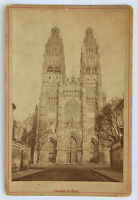 Cattedrale Di Giri Carta Armadio Vintage Albumina Ca 1890