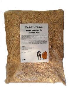 Aspen Bedding for Guinea pigs 10 Litres