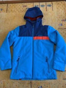 Jungen Winter / Ski – Jacke von ZIENER – Größe 164, blau