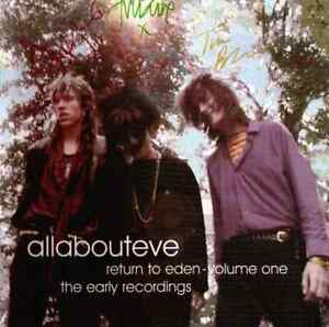 ALL ABOUT EVE Return To Eden - Volume One: The Early Recordings CD