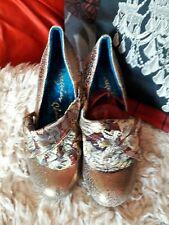 Irregular Choice Zapatos 36 3 1/2 Flick Flack