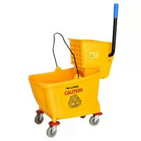 Polypropylene Yellow Libman Commercial 1095 One-Piece Bucket and Wringer