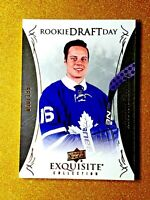 2016-17 Exquisite Collection Auston Matthews Rookie Draft Day /199 RDD-AM Gem