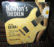 NEWTON'S THEOREM: ON THE BRINK OF BLISS & INSANITY SOUNDTRACK MUSIC CD, 10 TRKS