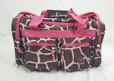 "Rockland 19"" Freestyle Carry-On Giraffe Print Duffle Bag"