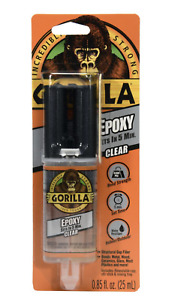 NEW Gorilla Glue Epoxy Adhesive Clear .85 oz - 5 Minute set