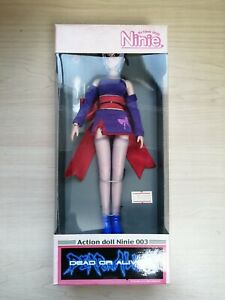 Rare EPOCH Action doll Ninie 003 Dead or Alive 2 Ayane Figure