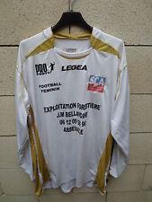 Maillot porté n°11 SCA ABBEVILLE Féminine Legea match worn shirt Pro football XL