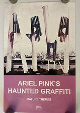 Ariel Pink's - Haunted Graffiti Promotional Poster 11x17 Mature Themes Art flyer