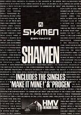 27/10/90 Pgn22 Advert: Shamen en-tact The New Album In Hmv Stores Now 15x11