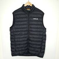 Cederberg Men's 700 Goose Down Vest Puffer Black Zip Up Outdoors Hiking Size XL