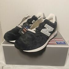 New in Box J Crew X New Balance Made In USA M1400NV Navy Silver Men's Size 9.5