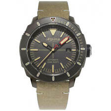 Alpina Men's Watch Seastrong Diver 300 Light Brown Strap AL-525LGG4TV6