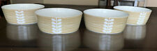 Orla Kiely Scribble Stem Bowl SET of FOUR (4) Dishes