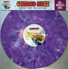 SUNSET AND THE BOOGIE  by CANNED HEAT  Vinyl LP ltd splatter coloured