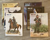 LOT 6 MAN AT ARMS Magazines Complete Year 1980 RIFLE HANDGUN SHOOTING SWORD NRA