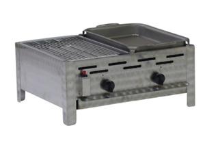 Edelstahl Gastrobräter mit Grillrost und Stahlpfanne Made in Germany