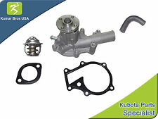 New Kubota B7500D B7500HSD Water Pump with Return Hose & Thermostat