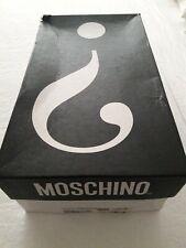 "PreOwned Moschino ""Stringata Vernice"" Men's Shoe Size 41 Black"