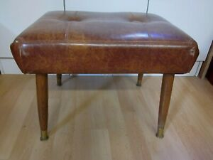 VINTAGE MID CENTURY MODERN PEARL-WICK Stool Circa 1950's Made in the USA