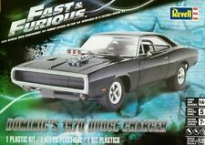 Revell Monogram 1:25 1970 Dodge Charger Dominic's Fast And Furious Car Model Kit