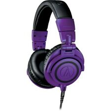 Audio-Technica ATH-M50x Monitor Headphones (Purple/Black) Limited Edition