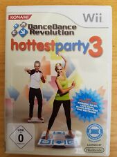 Dance Dance Revolution Hottest Party 3 (Nintendo Wii, 2010, DVD-BOX)