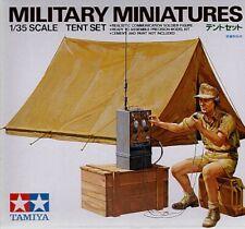 Tamiya 1 3 5 juego de dioramas tienda con radio (1) / 300035074