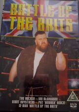 Battle of the Brits DVD original WWF wrestling