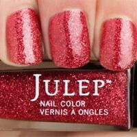 NEW! Julep nail polish RUBY SLIPPERS ~ RED Glitter full size WIZARD OF OZ