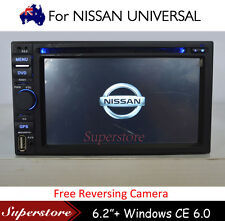 "6.2"" 2 din Car DVD GPS Navigation Stereo Head Unit For Nissan Universal Dashboad"