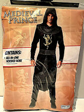 Medieval Prince Halloween Men's Fancy Dress Costume Adult's Size Fits Most