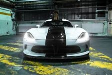 Hood Top Tail Vinyl Stripes Decal For Dodge Viper GTS