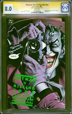 Batman: The Killing Joke CGC 8.0 -- 1988 -- Sign Brian Bolland Joker #1116269002