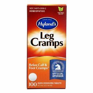 Hylands Leg Cramps 100 Dissolving Tablets Leg Foot Pain Relief SAME DAY DISPATCH