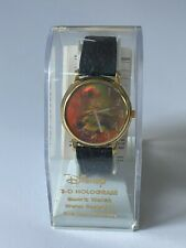 Disney 3-d Hologram Watch of Sorcerer Mickey, New never warn