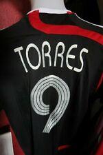 Mens Liverpool Shirt 2007 Euro Away Shirt White Adidas Size XL TORRES #9 Rare