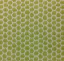 "KRAVET A POIS LIME GREEN GEOMETRIC ANIMAL DESIGNER EXCLUSIVE FABRIC BY YARD 54""W"
