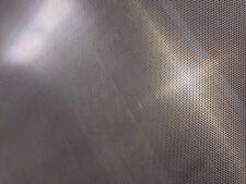 ALUMINIUM PERFORATED METAL SHEET MESH 380mm X 300mm - 2mm ROUND HOLES