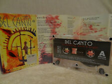 BEL CANTO Shimmering, Warm & Bright / 1992 / MC CASSETTE